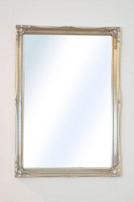 Large Decorative Antique Design Silver Wall Mirror 2Ft10 X 2Ft (86Cm X 61Cm)
