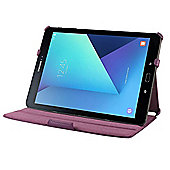 Navitech Samsung Galaxy Tab A 10.1 Inch Purple Leather Multi Stand Case Cover