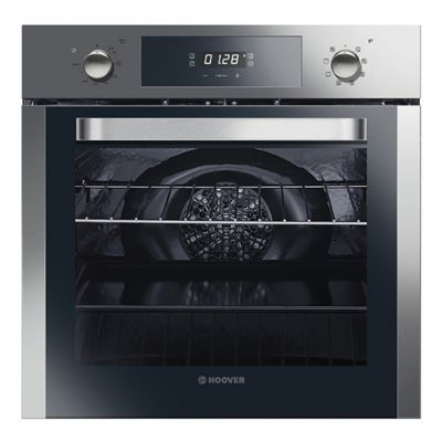 Hoover-HOSM658IN Built-In Electric Single Oven with 65 Litre Capacity and 8 Multi-Function Programmes
