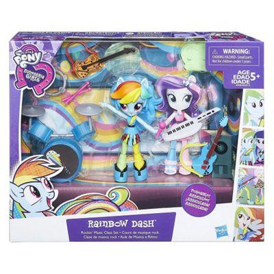 My Little Pony Equestria Girls Minis Rainbow Dash Rockin' Music Class Set