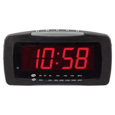 Tesco CR 11201LD Jumbo Display Alarm Clock Radio