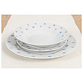 Sabichi Cornish Spots 12 Piece Dinner Set