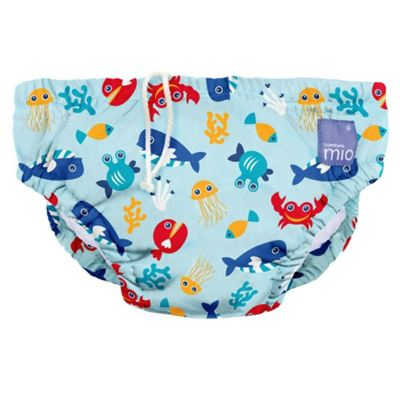 Bambino Mio Swim Nappy (Extra Large Deep Sea Blue 12-15kg)