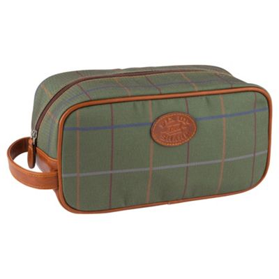 Mortymer Brothers Tweed Wash Bag