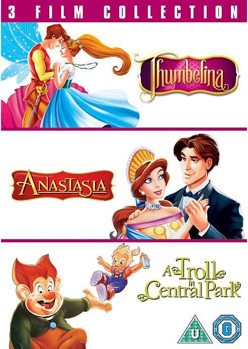 Thumbelina/Anastasia/Troll In Central Park (DVD Boxset)