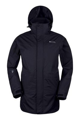 Mountain Warehouse Glacier Extreme Mens Long Waterproof Jacket ( Size: S )