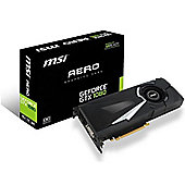 MSI GeForce GTX 1080 Aero PCI-Express Graphics Card