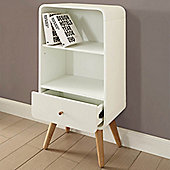 Jual Home Office PC704 Short Bookcase - White