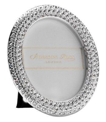 Addison Ross Diamante Bling Photo Frame Oval Frame