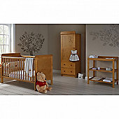OBaby Winnie the Pooh Single 3pc Room Set (Country Pine)