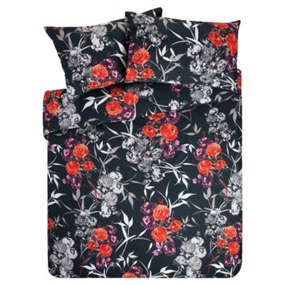 F&F Home Poppy Print Duvet Double