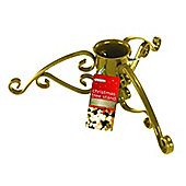 Gardman 5 Inch Christmas Tree Stand Gold Sparkle
