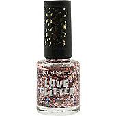 Rimmel Love Glitter Nail Polish 8ml - 033 Tinsel Toes