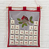 Felt Robin Advent Calendar