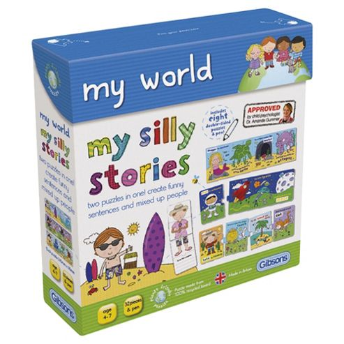 My Silly Stories Funny Sentences Puzzle Game