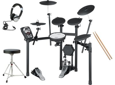 Roland TD-11K Electronic V-Drums Drumkit Package Includes, Stool, Sticks, Headphones, Bass Drum Pedal