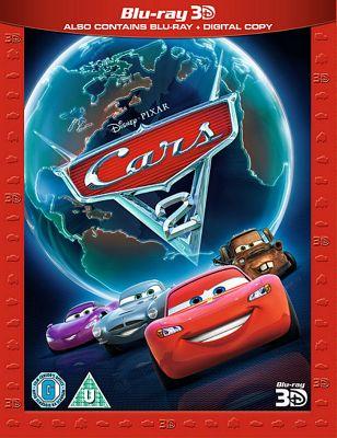 Cars 2 3D Super Play - 3D Bluray