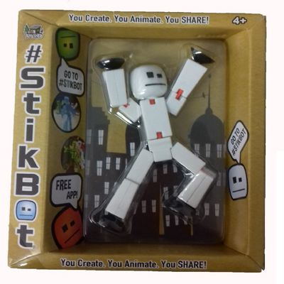 Stikbot Solid Colour - White