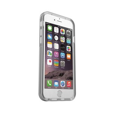Light Flashing Case Cover for iPhone 6 - Silver