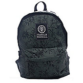 Franklin & Marshall Logo Backpack Rucksack Bag - Green Camp