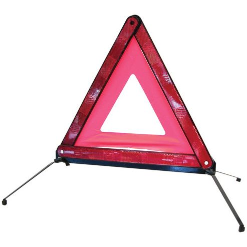 Warning triangle, E-approved