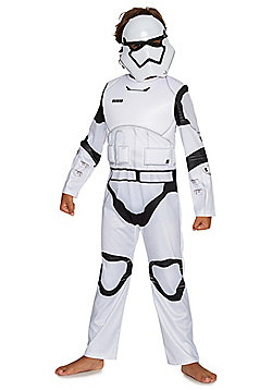 Star Wars Stormtrooper Fancy Dress Costume - White