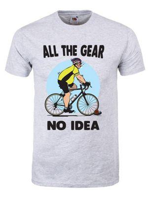 All The Gear No Idea Men's Grey T-shirt