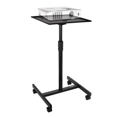 Duronic WPS20 Adjustable Height Floor Projector/Laptop Stand with Wheels