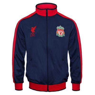 Liverpool FC Boys Track Jacket Navy 8-9 Years
