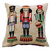 Nutcracker Tapestry Cushion Cover