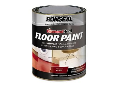 Ronseal DHFPSL5L Diamond Hard Floor Paint Slate 5 Litre