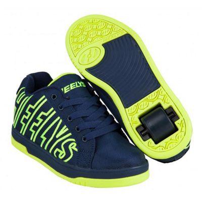 Heelys Split Navy/Bright Blue Kids Heely Shoe JNR 12