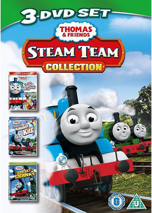 Thomas And Friends - Steam Team Collection (DVD Boxset)