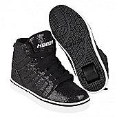 Heelys Uptown Black/Disco Glitter Kids Heely Shoe - Black