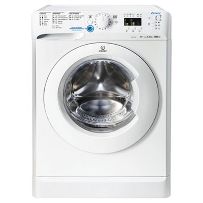 Indesit Innex XWA81682XW Washing Machine , 8Kg Load, 1600 RPM Spin, White
