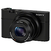 Sony DSC-RX100 Camera Black 20.2MP 3.6xZoom 3.0LCD FHD 28mm Wide Lens