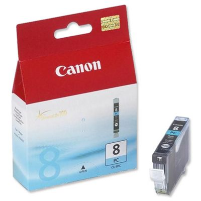 Canon CLI-8PC Photo Ink Cartridge (Cyan) for PIXMA iP6600D