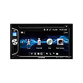 "Alpine 6.2"" Double Din Stereo/Media│CD│DVD│USB│AUX│Bluetooth│iPod-iPhone-Android"