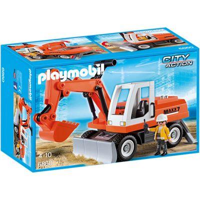 Playmobil 6860 City Action Construction Rubble Excavator