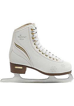 Lake Placid Alpine 800 Figure Ice Skates - White