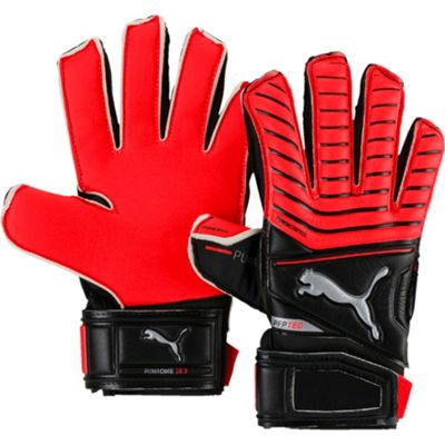 Puma One Protect 18.3 Junior Goalkeeper Gloves Size 4 Black/Red