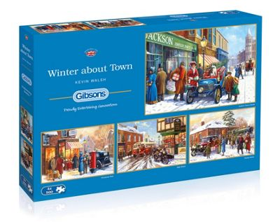 Winter About Town - 4x500pc Puzzle