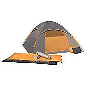 Cocam Combo 4 Man Dome Tent Set
