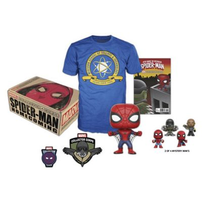 Marvel Spiderman Homecoming Collectors Corp Box Small