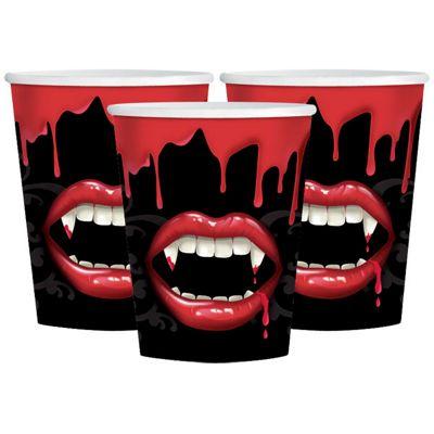 Fangtastic Vampire Party Paper Cups 9oz