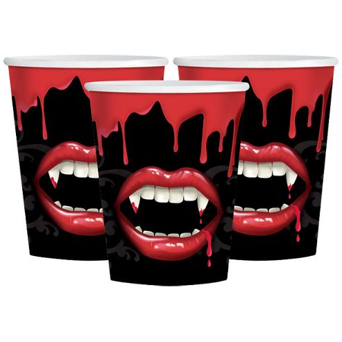 Fangtastic Vampire Party Paper Cups 9oz
