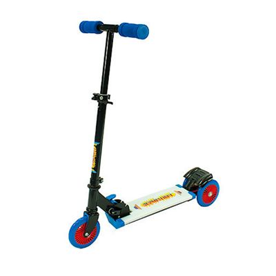 Ozbozz Cosmic Light Scooter With Step On Function Blue