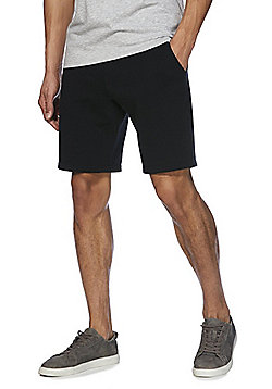 F&F Drawstring Jersey Shorts - Black