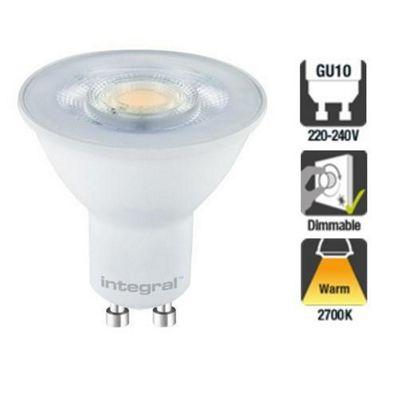 Integral LED GU10 Classic PAR16 5.5W (50W) 2700K 380lm Dimmable LED Spotlight Bulb