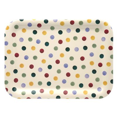 Emma Bridgewater Polka Dot Medium Melamine Tray